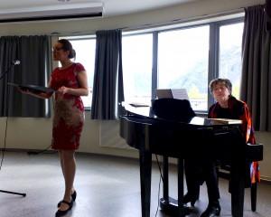 Ruth O. Lødemel og Sølvi H. Lundin