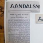 Åndalsnes Avis november 1942